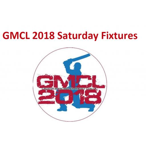 GMCL 2018 Saturday Fixtures