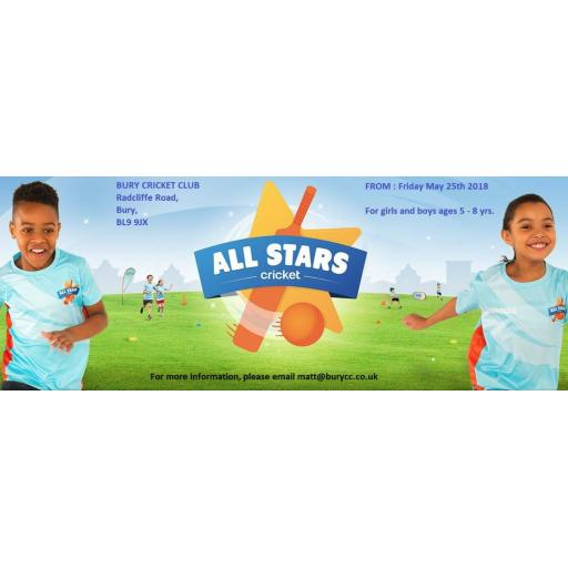 All Stars Cricket at Bury Cricket Club