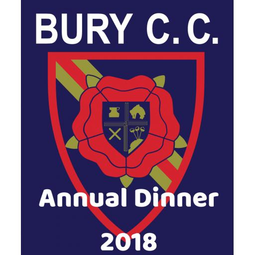 Bury Cricket Club Annual Dinner and Awards Night 2018