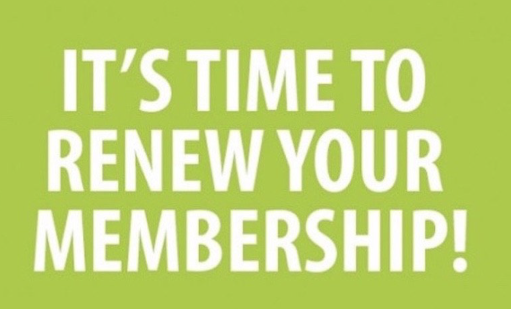 2019 Membership is now due