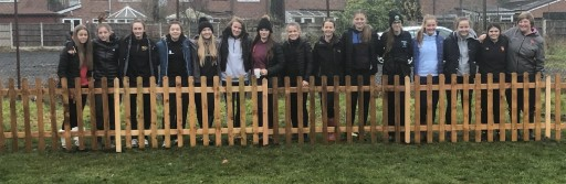 VIY team up with Lancs Girls to carry out ground work
