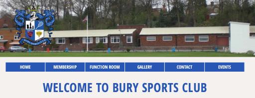 BURY SPORTS CLUB